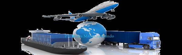Jasa pengiriman via Darat, laut dan Udara